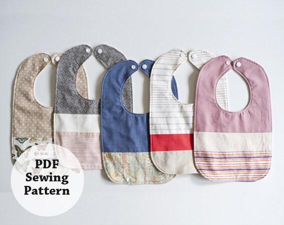 Baby Bib PDF Sewing Pattern