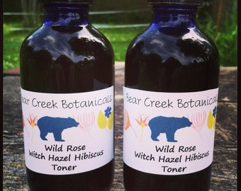 Wild Rose Witch Hazel Hibiscus Toner