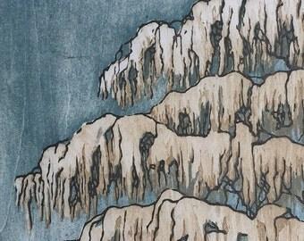 Artist Proof Sale - Tree No. 15 hand-pulled woodblock moku haga fine art print
