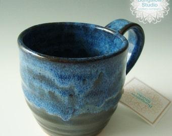 Gift for Coffee Lover, Ceramic Mug in handmade, Pottery Mug