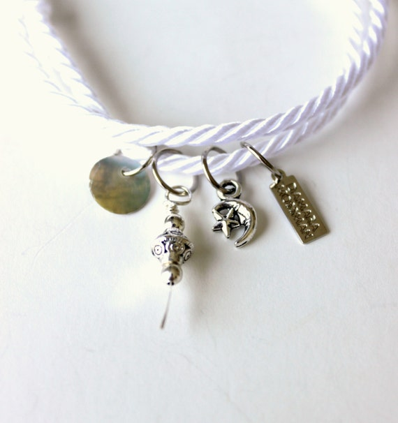 Boho Beach Charm Bracelet