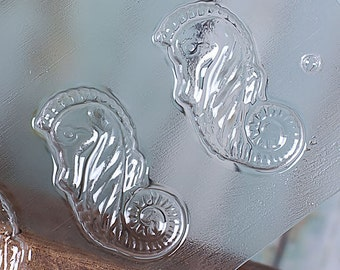 Seahorse Chocolate Molds, Seahorse Candy Molds, Seahorse Chocolate Moulds, Candy Moulds, Under the Sea Party Favors, Mermaid Party Favors