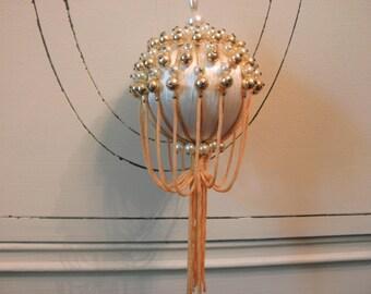 Vintage Handmade Christmas Ornament