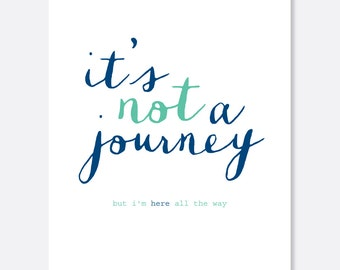 It's not a Journey Cancer Card