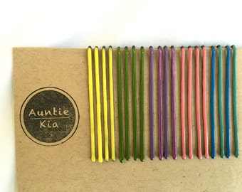 20 Pack of Pastel Bobby Pins