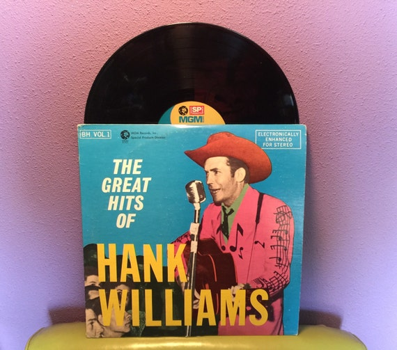 Vinyl Record Album The Great Hits Of Hank Williams Double Lp
