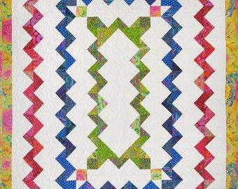 Zig Zag Zany Quilt Pattern
