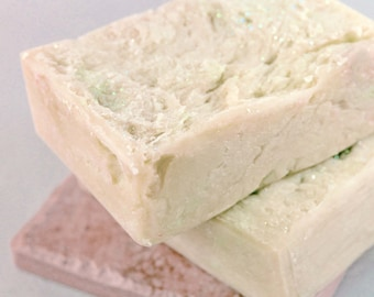 Goat's Milk CASTILE Soap - mild and gentle - rustic bar
