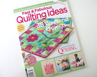 Fast & Fabulous Quilting Ideas Magazine 2008 from Better Homes and Gardens