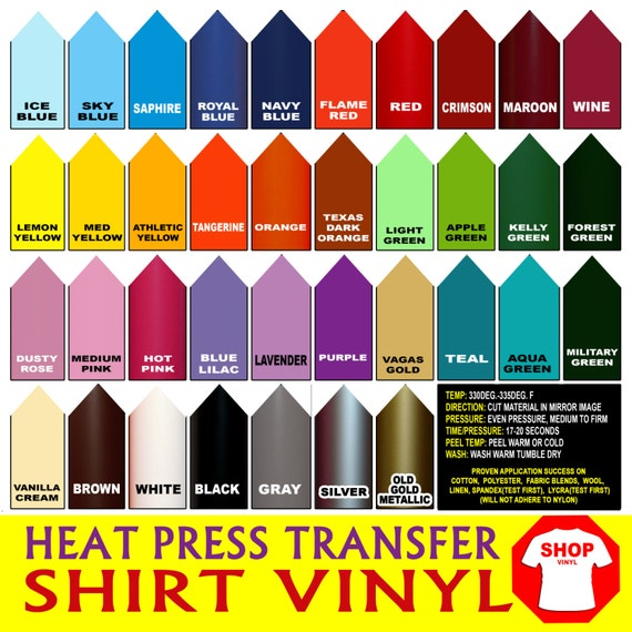 "3 rolls 12"" Heat Press thermal transfer vinyl, T- Shirt Vinyl, crafts or sign cutters, Die Cut, You can pick any three color tshirt film"
