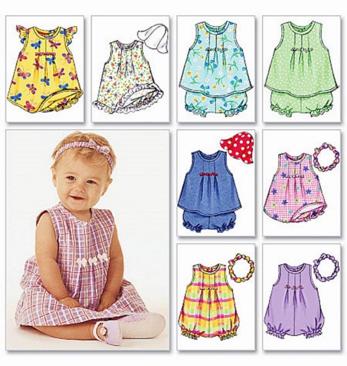 Baby Dress Pattern Baby Girls' Romper Pattern Toddler