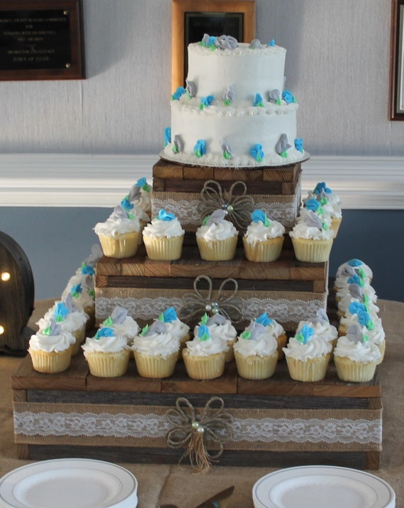 wedding cake stands rustic rustic cake stand wedding reception weddings decor 3 tier 25662