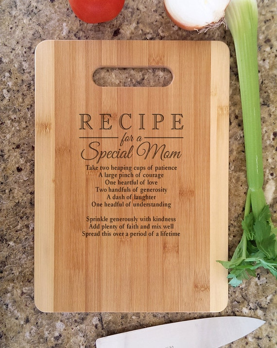 Mothers gift personalized recipe for a special mom custom Perfect christmas gifts for mom