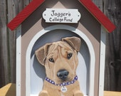 Dog House Card Box for Medium Weddings or Other Events