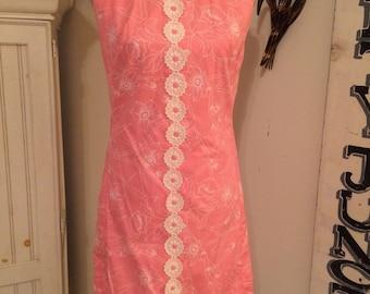 Vintage Shifts Internationale Of Miami Retro Summer Smock/Dress
