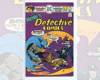 DC Batman's Detective Comics #454 Dec 1975