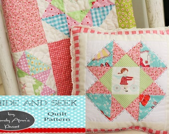 Hide and Seek Quilt Pattern by Emily Ann's Kloset PDF