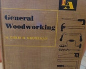 Vintage WOODWORKING Book Instructional Projects