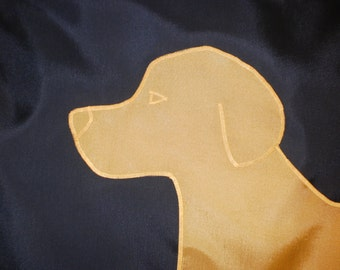 Golden Yellow Labrador Retriever Dog Flag