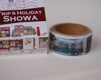 Summer 2015 Yano design Showa Trip and Holiday washi tape  20mm x 5M