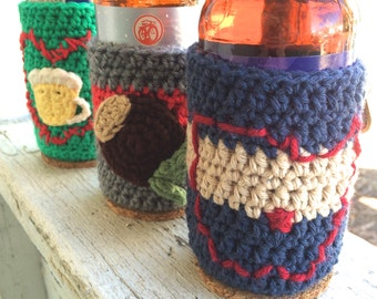 Crochet Beer Sweaters