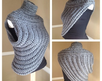 Huntress Asymmetrical Cowl