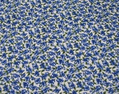 1 yd Blueberry blueberries TT Fabric White Background Quilt 100%  Cotton Fabric Maine sewing crafting supply