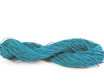 Bulky Paper Twine: Teal - 190 yards (175m) - DIY, Crafts, Gift Wrapping, Knitting, Weaving, Craft Supply