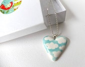 Sweetest Heart Pendant - READY TO SHIP