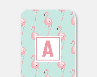 Mom Personalized iPhone 6 Case Personalized iPhone SE Case Personalized iPhone Case Monogram iPhone 6s Case Flamingo iPhone 5 Case Pastel