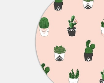 Cactus Mouse Pad Mousepad Pink Mousepad Mouse Mat - Cactus Mouse Pad Succulent Mousepad Succulent Mouse Pad Pink Mousepad Pink Mouse pad Cco