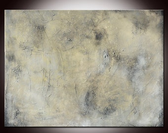 Original Gray Abstract painting, Gray painting, Large Grey Painting, Original Painting,Huge gray art, taupe painting, textural painting