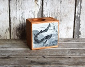 Sea Desk Caddy Small: No. 1, Fish - by Peg and Awl