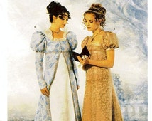 Butterick Costume Pattern 6630 - Misses' Victorian Coat and Dress - Historical Pattern - SZ 12/14/16