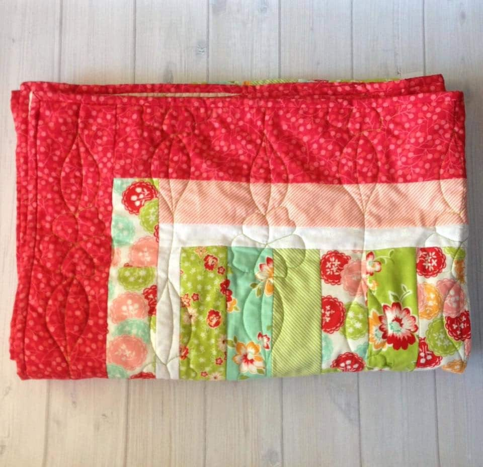 Baby Gift Quilt : Baby quilt girl gift