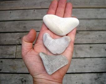 Heart Shaped Rocks - DIY Wedding Decor - Natural Stone Hearts