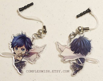 Reversible Fire Emblem Charm - Chrom