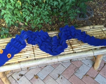 Florida Gator Scarf in Gator Blue
