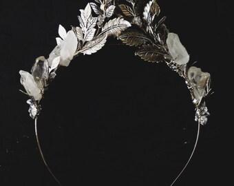 Gwendolyn crown (silver), #1200b