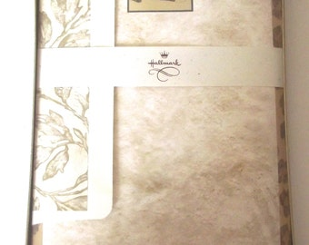 Leopard Writing Paper, Vintage Unused Stationery Set from Hallmark Cards