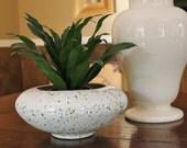 Vintage Speckled Planter