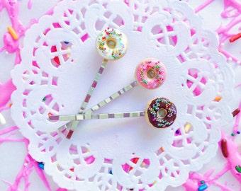 Donut Bobbi Pins