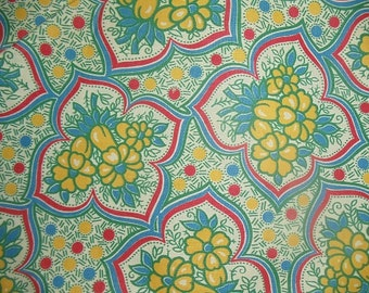 """Vintage Cotton Fabric Quilting 1920's 1930's 1 Yd. L 34"""" W Mint"""