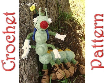 Bubba Jack a Crochet Pattern by Erin Scull