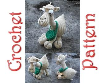 Joe the Camel A Crochet Pattern by Erin Scull