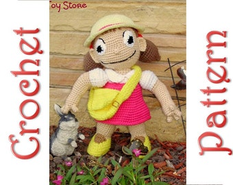 Suzie Que a Crochet Pattern by Erin Scull