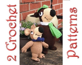 Jerry and Terry Bear 2 Crochet Patterns