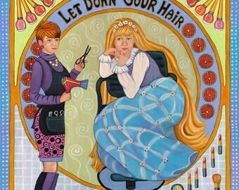Rapunzel Rapunzel Let Down Your Hair