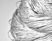 Silver ghost - Silk Tape Lace Yarn - SUMMER EDITION