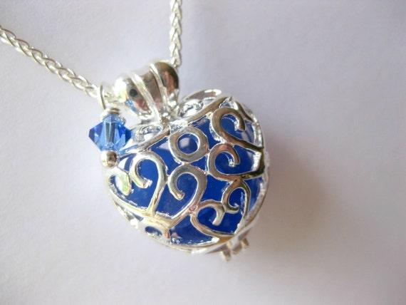 Sea Glass Locket  Heart Seaglass Pendant Beach Glass Necklace Beach Glass Jewelry Handmade, Custom Jewelry